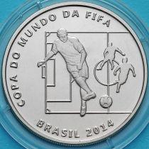 Бразилия 2 реала 2014 год. Пас.