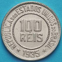 Бразилия 100 рейс 1935 год. UNC
