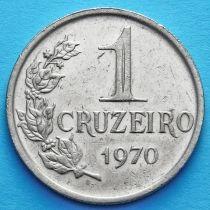 Бразилия 1 крузейро 1970 год.