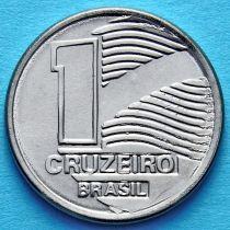 Бразилия 1 крузейро 1990 год.