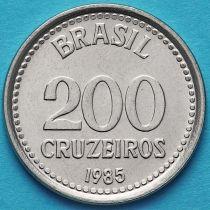 Бразилия 200 крузейро 1985-1986 год.
