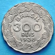 Бразилия 300 рейс 1938 год. Жетулиу Дорнелис Варгас. UNC