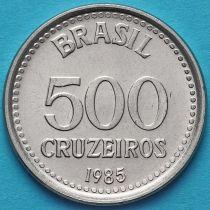 Бразилия 500 крузейро 1985-1986 год.