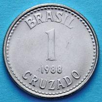 Лот 20 монет. Бразилия 1 крузадо 1988 год.