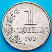 Бразилия 1 крузейро 1975 год.