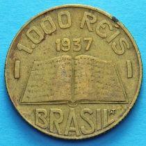 Бразилия 1000 рейс 1937 год. Жозе де Анчиета.
