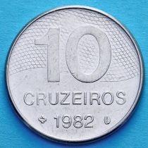 Бразилия 10 крузейро 1980-1984 год