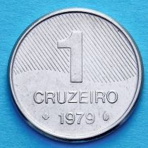 Бразилия 1 крузейро 1979-1981 год.