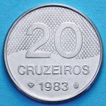 Бразилия 20 крузейро 1981-1985 год