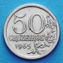 Бразилия 50 крузейро 1965 год