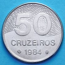 Бразилия 50 крузейро 1981-1984 год