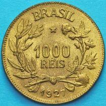 Бразилия 1000 рейс 1927 год. Без обращения.