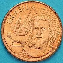 Бразилия 5 сентаво 2010 год.