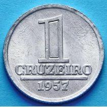 Бразилия 1 крузейро 1957 год. Герб