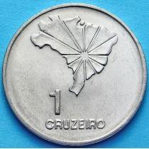 Бразилия 1 крузейро 1972 год. Декларация о независимости.