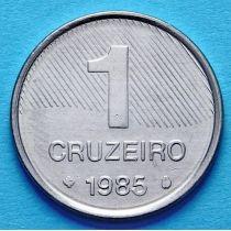 Бразилия 1 крузейро 1985 год. ФАО
