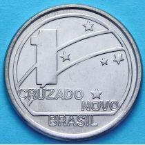 Бразилия 1 крузадо 1989 год.