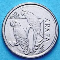 Бразилия 5 крузейро 1993 год. Ара