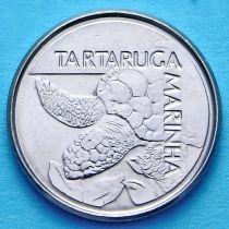 Бразилия 500 крузейро 1992 год. Морская черепаха