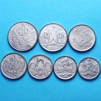 Бразилия набор 7 монет 1989-1992 год. Профессии