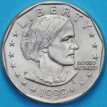 США 1 доллар 1999 год. Сьюзен Энтони. P