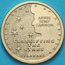 США 1 доллар 2019 год. D. Энни Джамп Кэннон.