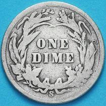 США дайм Барбера (10 центов) 1899 год. Сан-Франциско. Серебро.