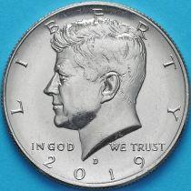 США 50 центов 2019 год. D. Кеннеди.