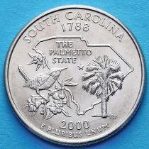 США 25 центов 2000 год. Южная Каролина.