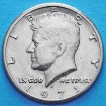США 50 центов 1971 год. D. Кеннеди.