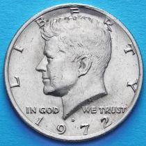 США 50 центов 1972 год. D. Кеннеди.
