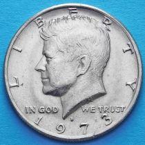 США 50 центов 1973 год. D. Кеннеди.
