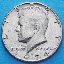 США 50 центов 1974 год. D. Кеннеди.