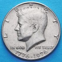 США 50 центов 1976 год. Без отметки монетного двора. 200 лет независимости.