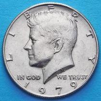 США 50 центов 1979 год. Без отметки монетного двора. Кеннеди.