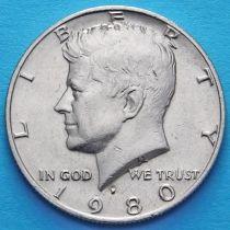 США 50 центов 1980 год. Р. Кеннеди.