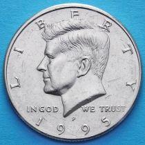 США 50 центов 1995 год. P. Кеннеди.