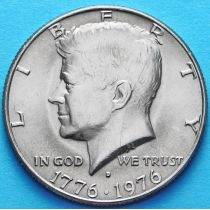 США 50 центов 1976 год. D. 200 лет независимости.