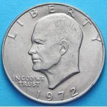 США 1 доллар 1972 год. Эйзенхауэр.