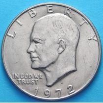 США 1 доллар 1972 год. Эйзенхауэр. D.