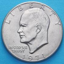 США 1 доллар 1971 год. Эйзенхауэр.