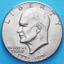 США 1 доллар 1976 год. 200 лет независимости США. D.