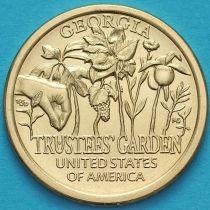 США 1 доллар 2019 год. D. Попечительские сады.