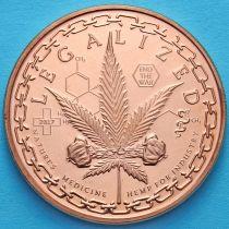 США жетон унция меди. Легализация конопли в медицинских препаратах.