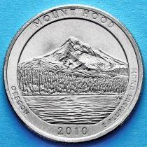 США 25 центов 2010 год. Национальный лес Маунт-Худ. D №5