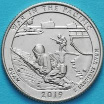 США 25 центов 2019 год. Монумент воинской доблести. P.