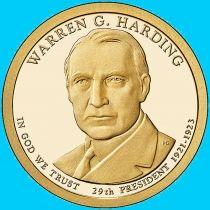 США 1 доллар 2014 год. Уоррен Гардинг. Р.