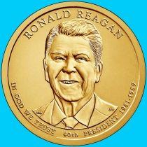 США 1 доллар 2016 год. Рональд Рейган. Р.