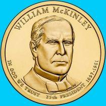 США 1 доллар 2013 год. Уильям Мак-Кинли. Р.