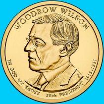 США 1 доллар 2013 год. Томас Вудро Вильсон. Р.